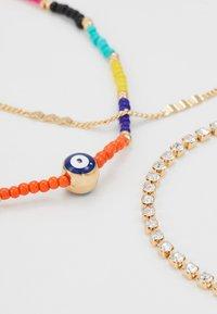 ALDO - EDENAWET 3 PACK - Bracelet - bright multi on gold-coloured - 2