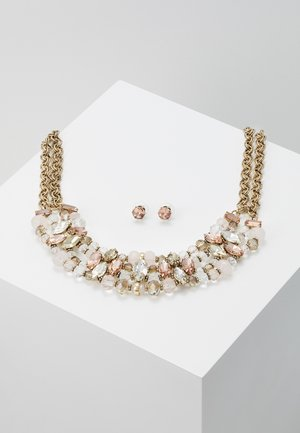 HALOWAII SET - Necklace - light pink