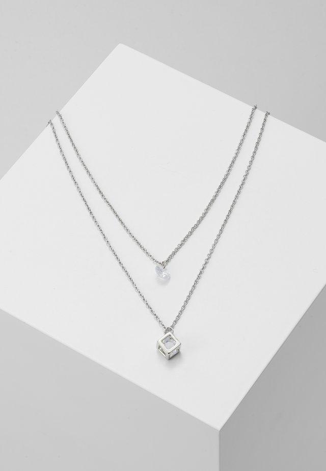 BENDICK 2 PACK - Halsband - silver-coloured/multi