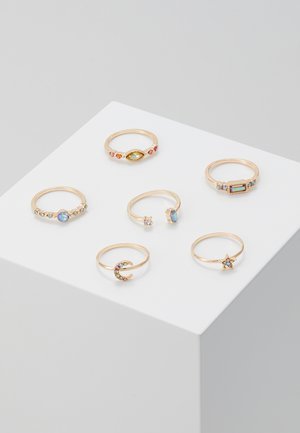 MELADZE 6 PACK - Ring - gold-coloured