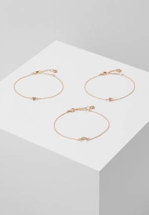 AMORE 3PACK - Pulsera - gold-coloured