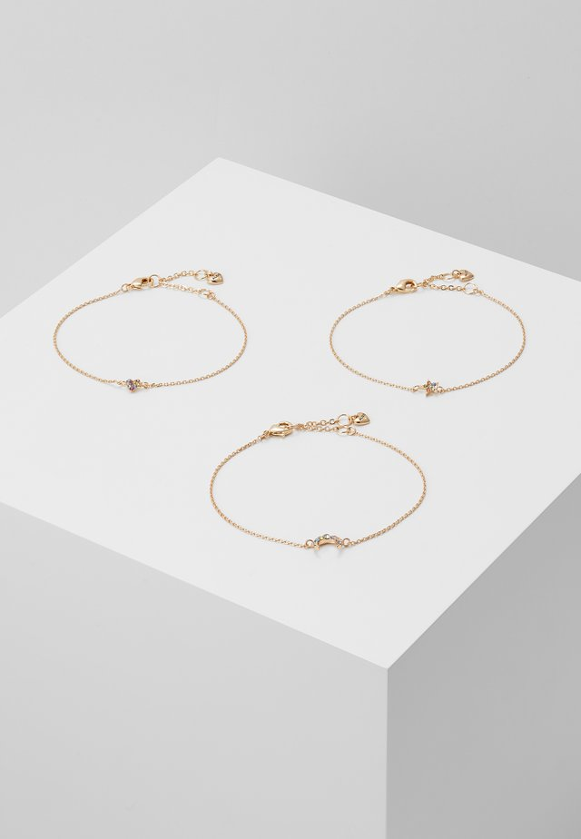 AMORE 3PACK - Armband - gold-coloured