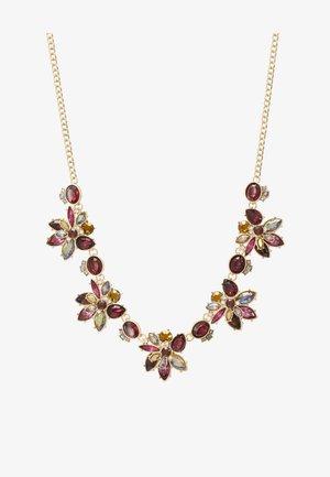 BOURALY - Necklace - bordo