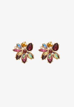 LANAME - Earrings - bordo