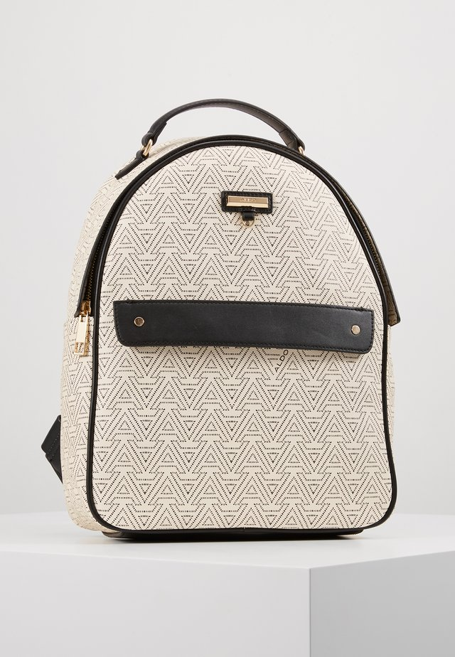 ELESEY - Mochila - black/bone/gold-coloured