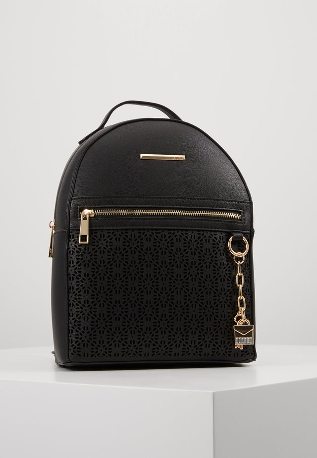 PROSNA - Mochila - jet black/gold-coloured