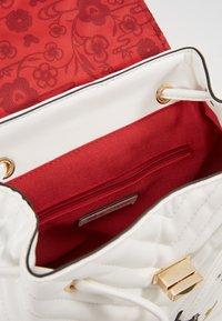ALDO - DISNEY MINIPACK MICKEY - Rucksack - bright white/gold-coloured - 5