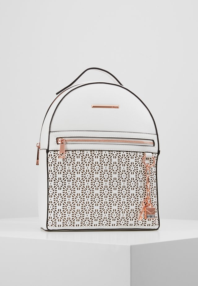 PROSNA - Mochila - bright white/rose gold