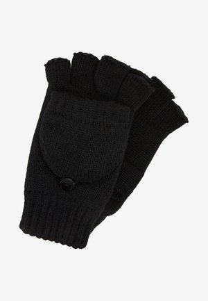 TREAVEN - Fingerless gloves - black