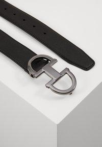 ALDO - GORLENKO - Pásek - black/gunmetal - 1