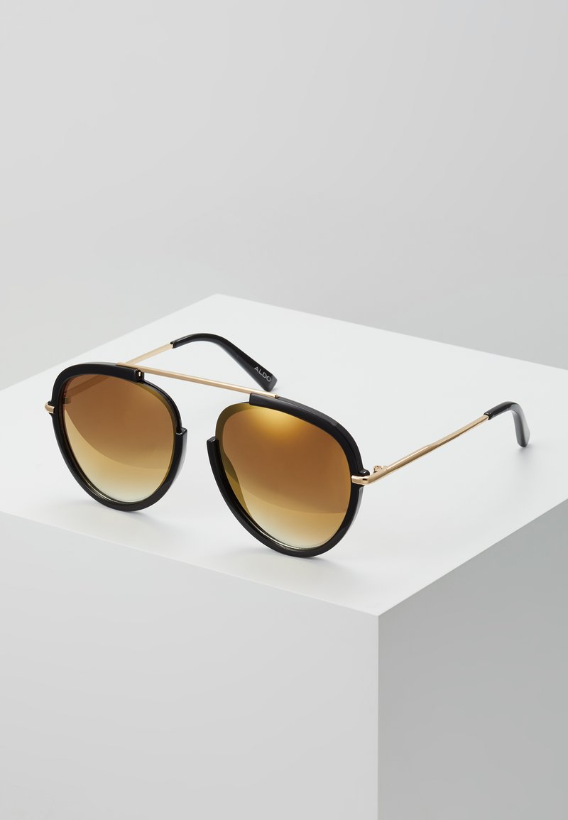 ALDO - CARABOB - Sunglasses - black/gold
