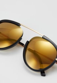 ALDO - CARABOB - Sunglasses - black/gold - 2