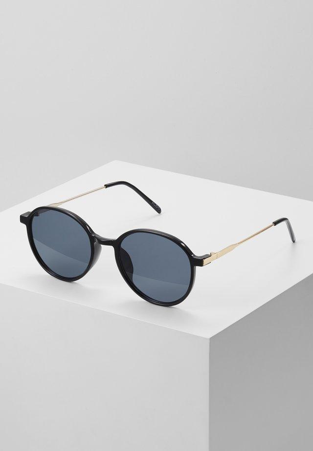DICEMBRE - Solglasögon - black/gold-coloured