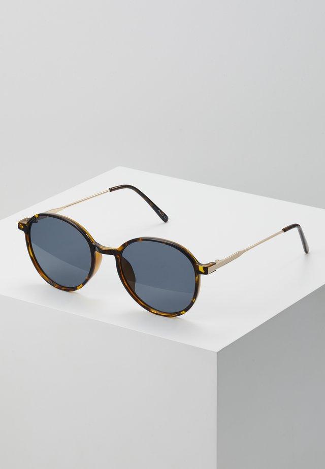 DICEMBRE - Occhiali da sole - brown tort/gold-coloured/smoke mono