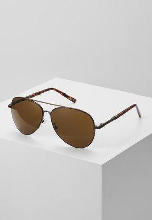 POTOROO - Sluneční brýle - brushed bronze/brown tort/brown mono