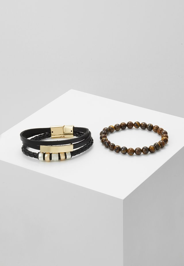 SELMUR SET - Rannekoru - black/brown