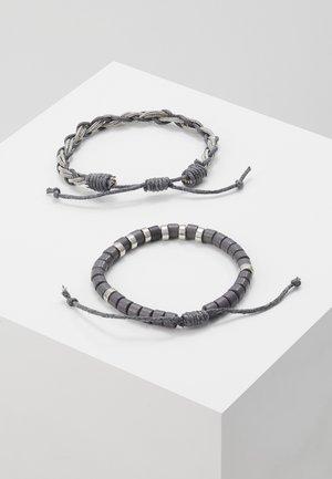 GEYMOND 2 PACK - Bracelet - grey