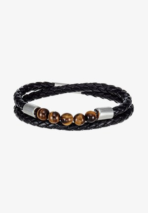 SCOTUI - Armband - black/brown