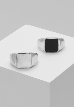 2 PACK SEVERALIAN - Ring - black