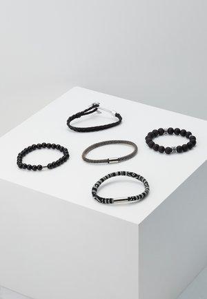 KENRICUS 5 PACK - Bracelet - black