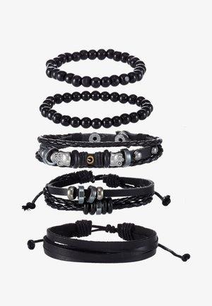 ELADE 5 PACK - Bracelet - black