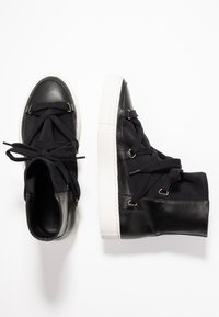 another project - High-top trainers - black - 3