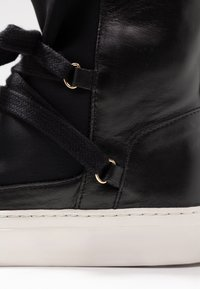 another project - High-top trainers - black - 2