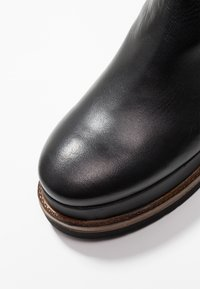 another project - Wedge boots - black/brown - 2