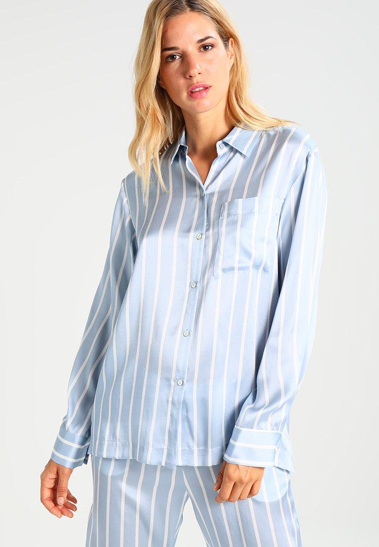 ASCENO - Pyjamashirt - sky stripe