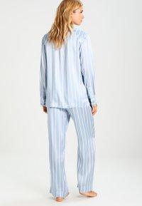 ASCENO - Pyjama bottoms - sky stripe - 2