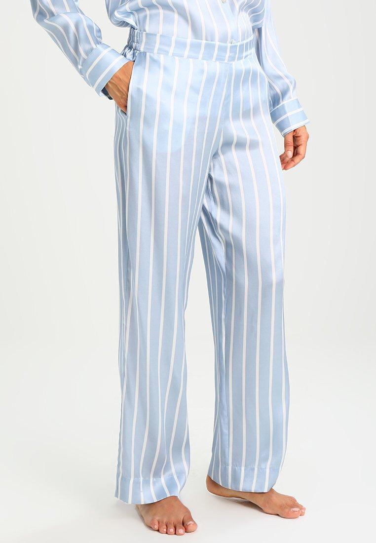 ASCENO - Pyjama bottoms - sky stripe