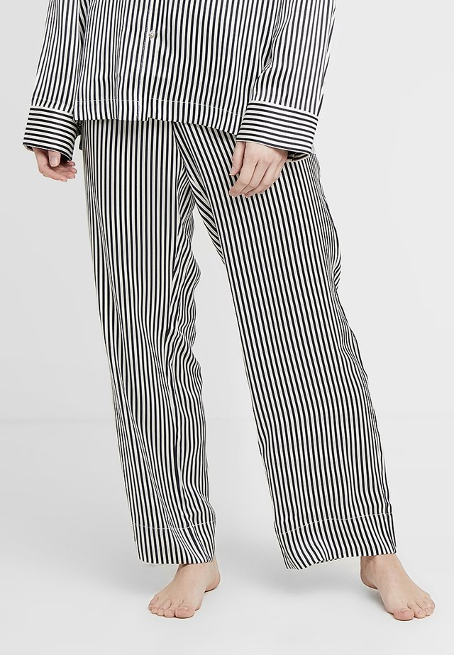 BOTTOM - Pyjama bottoms - jet black