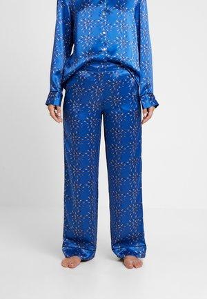 BOTTOM - Pyjama bottoms - cobalt/multi