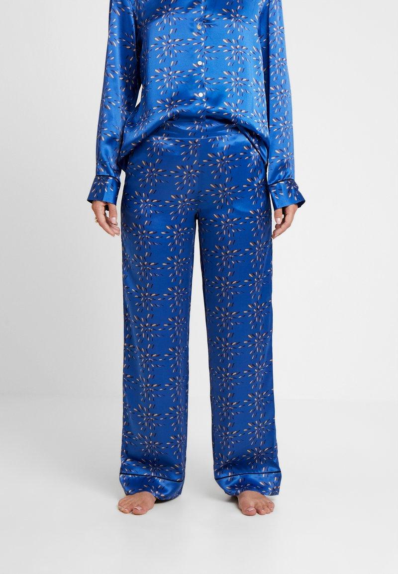 ASCENO - BOTTOM - Pantaloni del pigiama - cobalt/multi