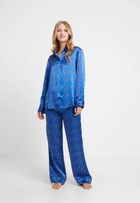 ASCENO - BOTTOM - Pantaloni del pigiama - cobalt/multi - 1