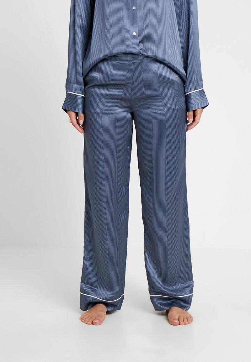 ASCENO - BOTTOM - Pantalón de pijama - blue/black