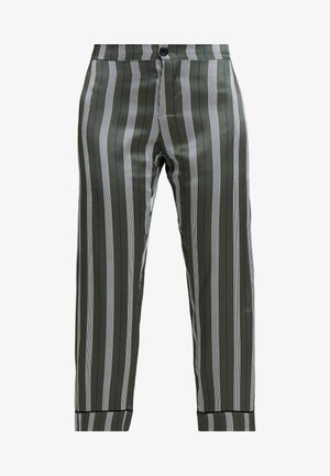CROPPED TROUSER - Pyjamasbyxor - olive