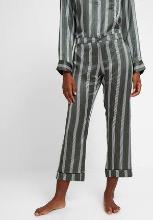 CROPPED TROUSER - Pyjama bottoms - olive