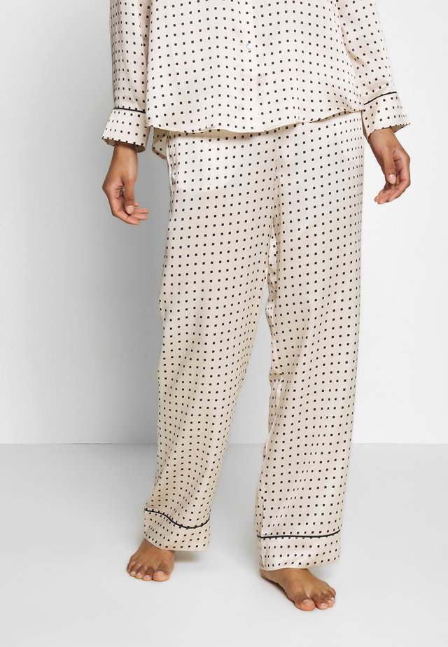 THE LONDON BOTTOM - Pyjama bottoms - cream