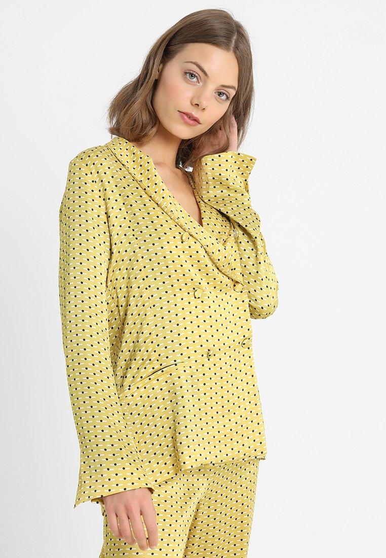 ASCENO - Nattøj trøjer - yellow