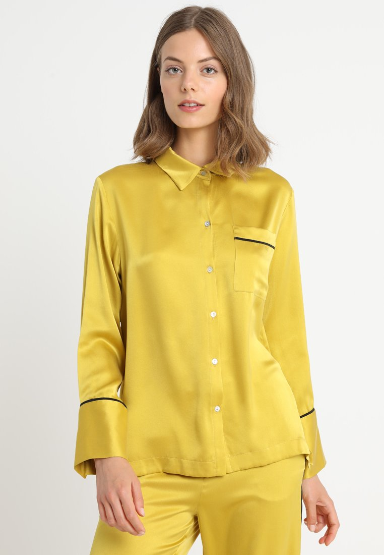 ASCENO - Nattøj trøjer - yellow/black