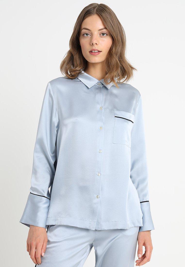 ASCENO - Nattøj trøjer - powder blue/black
