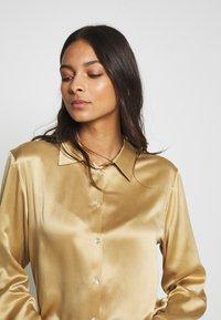 ASCENO - THE LONDON TOP - Maglia del pigiama - antique gold - 3