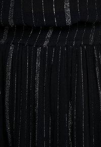ADIA - SKIRT KNEELENGTH - A-line skjørt - black - 4
