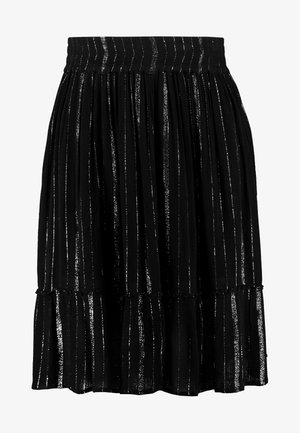 SKIRT KNEELENGTH - A-line skirt - black