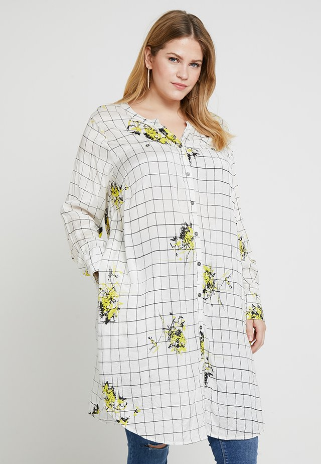 LEONIE CRUSH PRINT BLOUSE - Pusero - yellow