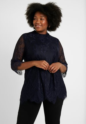BLOUSE - Blůza - dark navy
