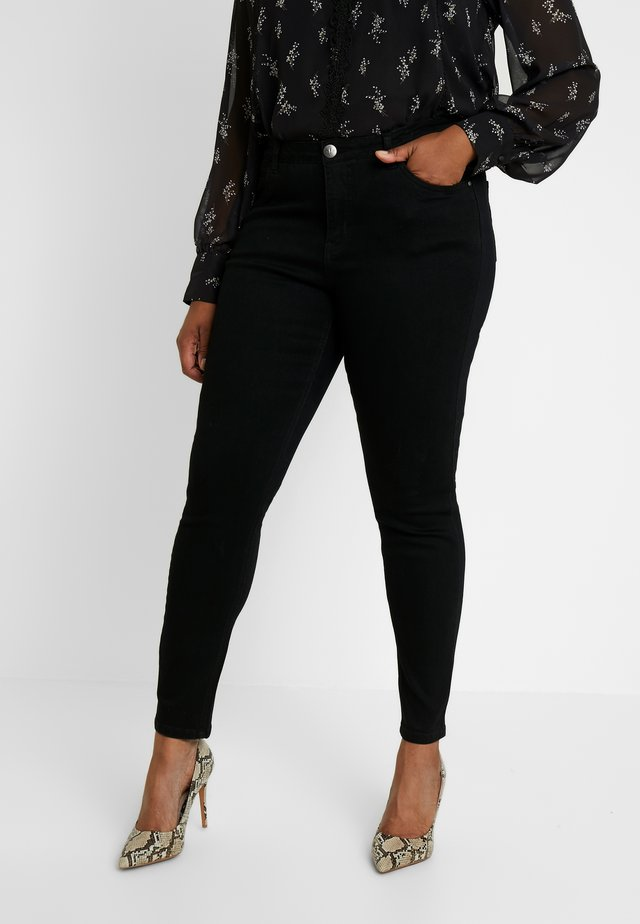 MILAN - Slim fit jeans - black