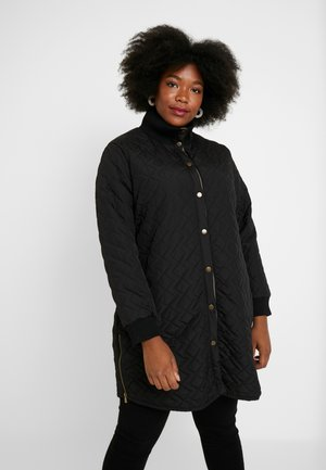JACKET - Halflange jas - black