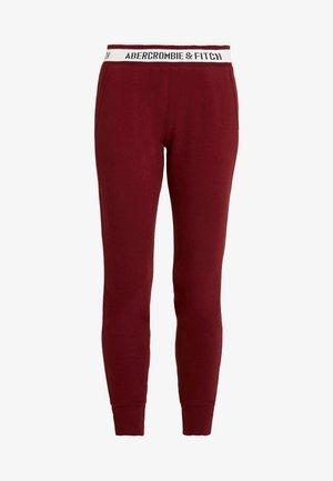 LOGO WAISTBAND - Pantalones deportivos - red